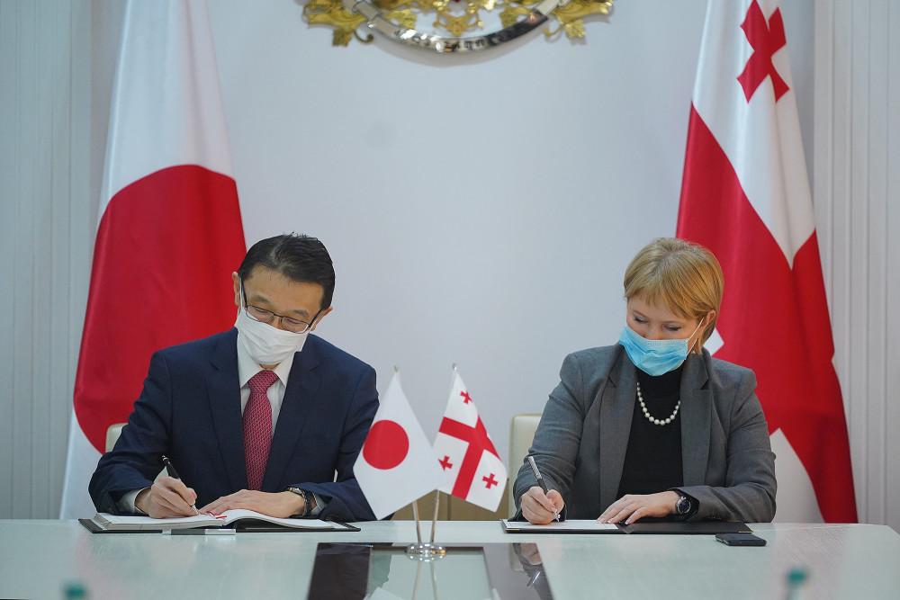 საქართველოსა და იაპონიას შორის ინვესტიციების ურთიერთდაცვის შეთანხმება გაფორმდა