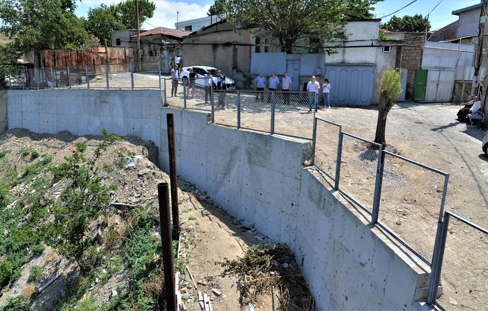 მიმდინარე წელს ნაძალადევის რაიონში გრუნტის დამჭერი 13 კედელი მოეწყო