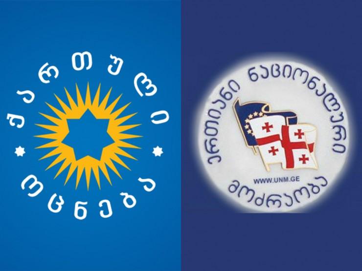 """NDI: გამოკითხულთა 21%-ის შეხედულებებთან ყველაზე ახლოს """"ქართული ოცნება"""", ხოლო 15%-თან """"ნაციონალური მოძრაობა"""" დგას"""