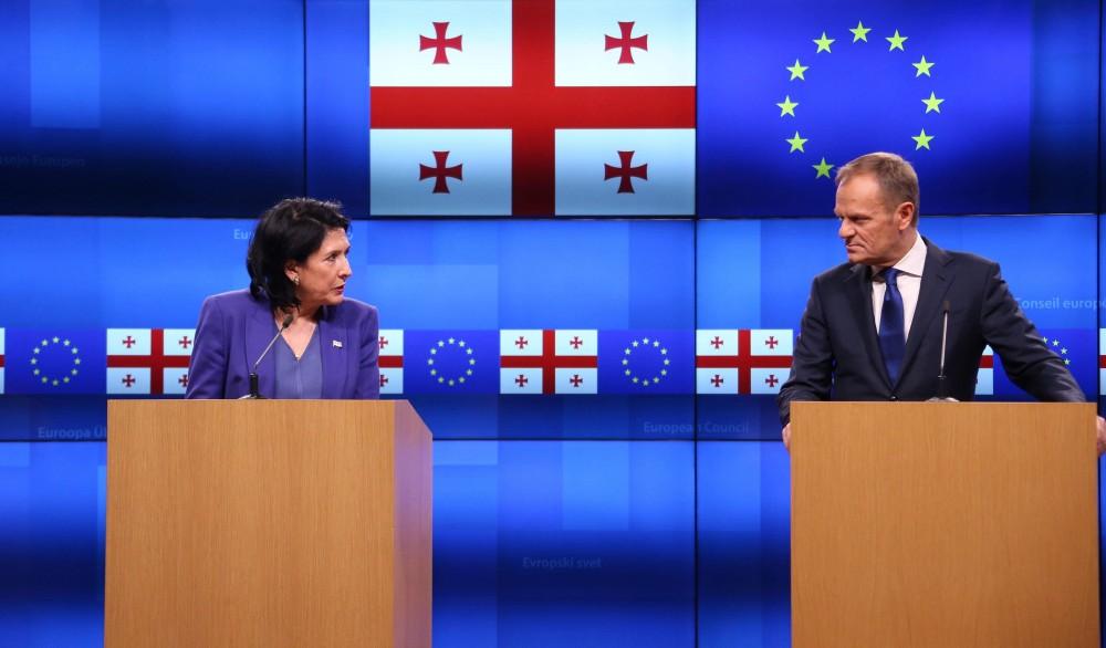 პრეზიდენტი: საქართველოს სჭირდება ევროკავშირისა და საერთაშორისო საზოგადოების შეთანხმებული და ძლიერი ჩართულობა, რათა მივაგნოთ კონფლიქტის ახლებურ მშვიდობიან გადაწყვეტას
