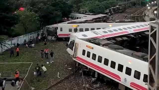 ტაივანში სარკინიგზო ავარიის შედეგად 18 ადამიანი დაიღუპა