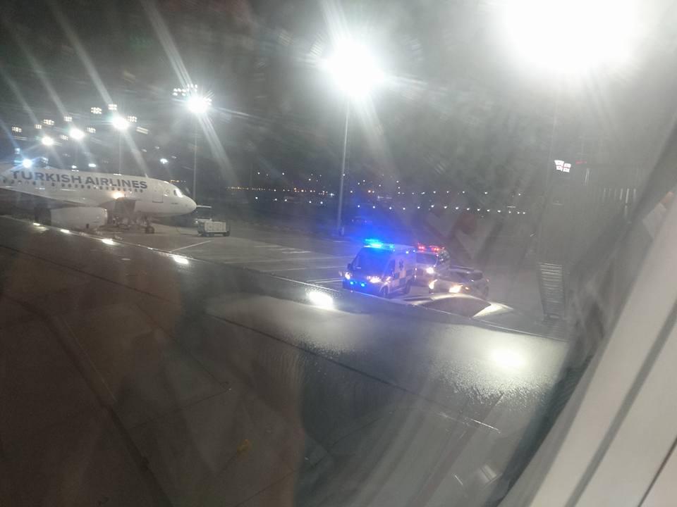 სასწრაფოს ეკიპაჟი 30-40 წუთის შემდეგ მოვიდა - თბილისის აეროპორტში კაცის გარდაცვალების დეტალები (ვიდეო)