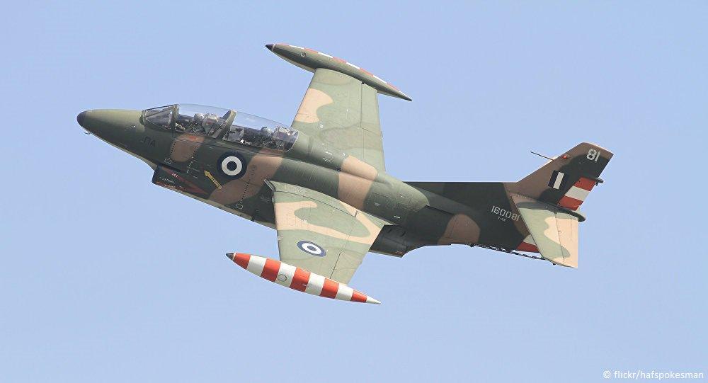 სამხედრო თვითმფრინავი ჩამოვარდა - ავიაკატასტროფა საბერძნეთში