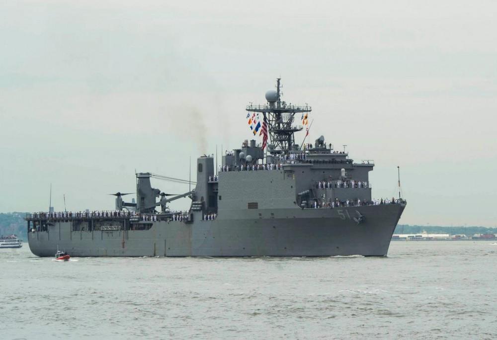 ბათუმის პორტში აშშ-ის მე-6 ფლოტის ხომალდი შემოვიდა