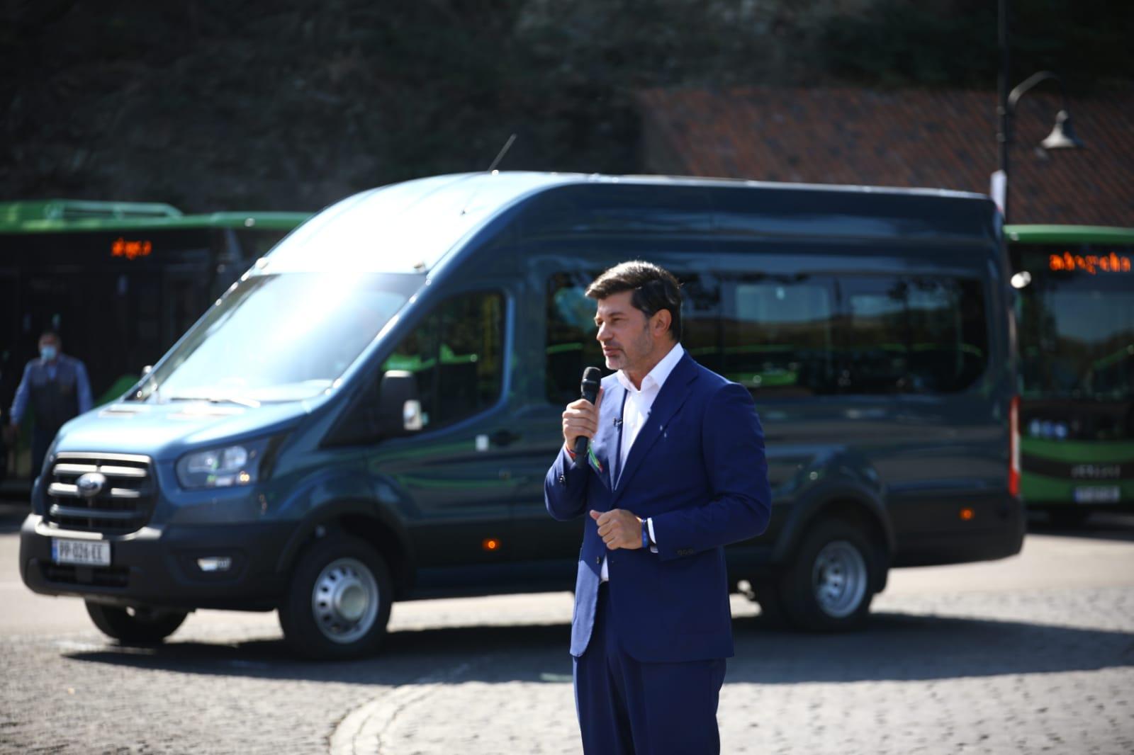 23 სექტემბრიდან დედაქალაქის მოსახლეობას მიკროავტობუსების ახალი მარშრუტები მოემსახურება