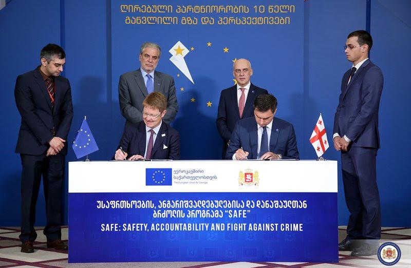 ბათუმის კონფერენციის ფარგლებში საქართველოსა და ევროკავშირს შორის 47 მლნ ევრომდე ოდენობის საფინანსო შეთანხმებები გაფორმდა