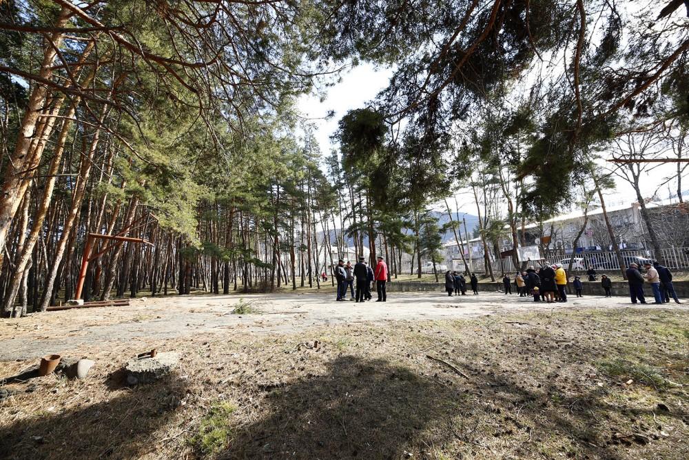 წყნეთის ტყე-პარკის ტერიტორიაზე მშენებლობა არ განხორციელდება