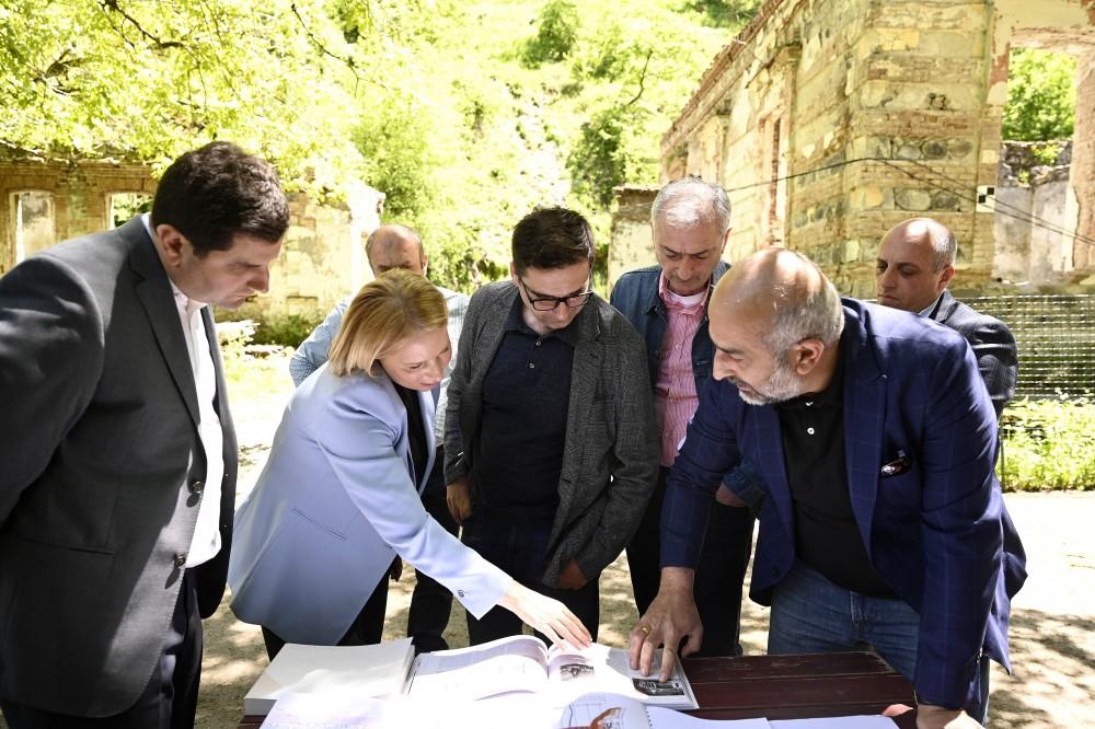 ნათია თურნავა - ისტორიული ბორჯომი ჰესის აღდგენა ბორჯომ-პარკს კიდევ უფრო მიმზიდველს გახდის