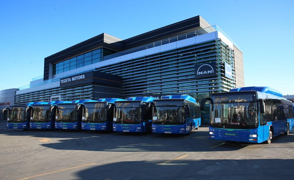 N54 ავტობუსი მარშრუტზე პირველად 31 დეკემბერს გავა