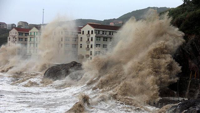 """ჩინეთში ტაიფუნმა """"რუმბიამ"""" 7 ადამიანის სიცოცხლე იმსხვერპლა"""