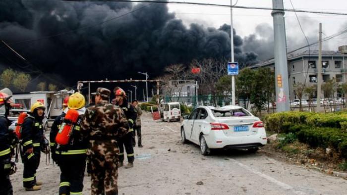 ჩინეთში ქიმიურ ქარხანა აფეთქდა -  დაღუპულია ათეულობით ადამიანი