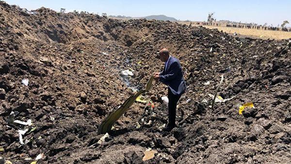 ავიაკატასტროფის შედეგად ეთიოპიაში 157 ადამიანი დაიღუპა
