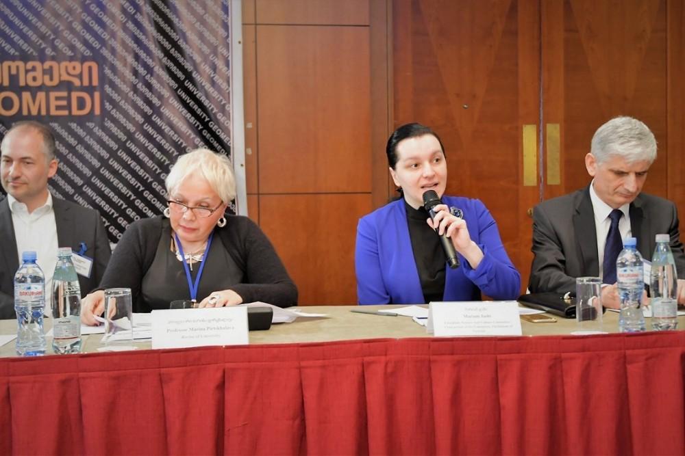 """მარიამ ჯაშმა საერთაშორისო სიმპოზიუმი """"დიგიტალიზაცია და მისი გავლენა ადამიანის ჯანმრთელობაზე"""" გახსნა"""