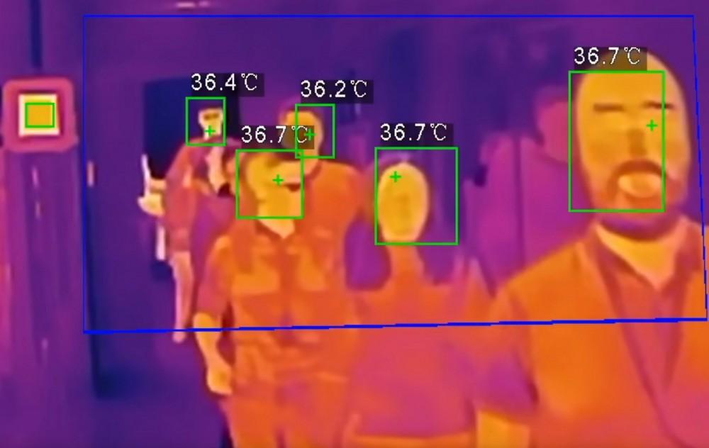 სავაჭრო მოლებში მოქალაქეთა ტემპერატურის კონტროლი ვიდეოსკრინინგის სისტემით მოხდება