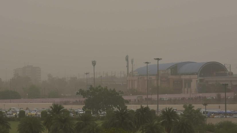 ინდოეთის დედაქალაქში ჰაერის დაბინძურების გამო მშენებლობები აიკრძალა