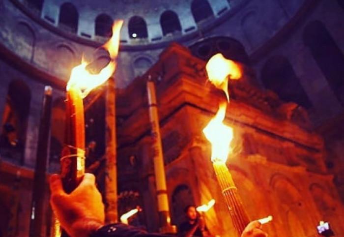 ისრაელში საქართველოს საელჩო ცეცხლის გადმოსვლასთან დაკავშირებით მომლოცველებს აფრთხილებს