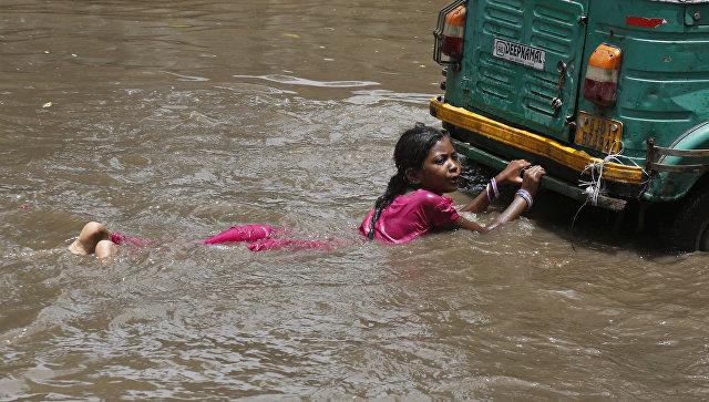 ინდოეთში წყალდიდობის შედეგად 16 ადამიანი დაიღუპა