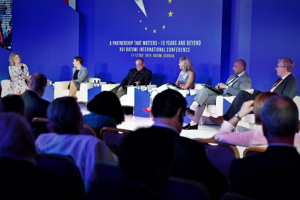"""ბათუმის საერთაშორისო კონფერენცია """"საქართველოს ევროპული გზა"""" შემაჯამებელი სესიით დასრულდა"""