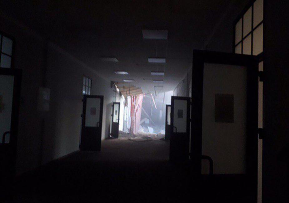 სანკტ-პეტერბურგში უნივესიტეტის შენობა ჩამოინგრა - ნანგრევების ქვეშ, სავარაუდოდ, 21 ადამიანია