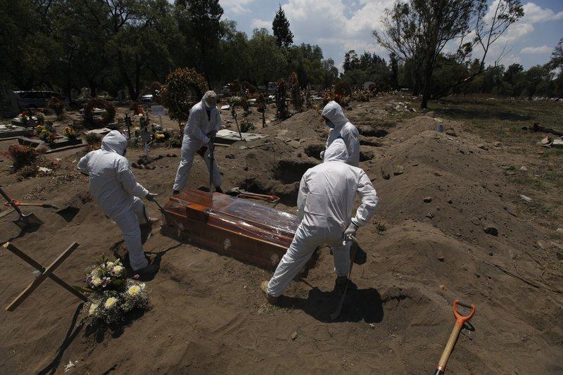 მექსიკაში, ერთ დღეში ახალი კორონავირუსით 926 ადამიანი გარდაიცვალა