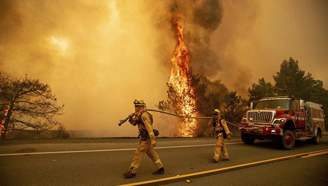 სტიქია კალიფორნიაში - ტყის ხანძარმა ქალაქი პარადაისი გაანადგურა (ფოტო+ვიდეო)