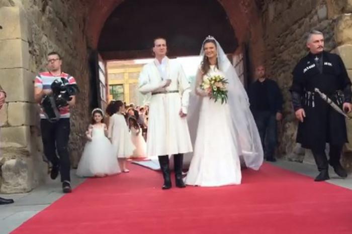 ხუან და ქრისტინე ბაგრატიონ-მუხრანელის სამეფო ქორწილი (ვიდეო)