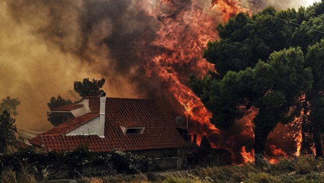 ესპანეთი საბერძნეთში ხანძრის ჩასაქრობად 2 თვითმფრინავს გაუშვებს