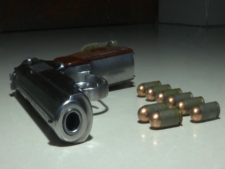 შსს-მ სამეგრელოში უკანონო ცეცხლსასროლი იარაღი ამოიღო