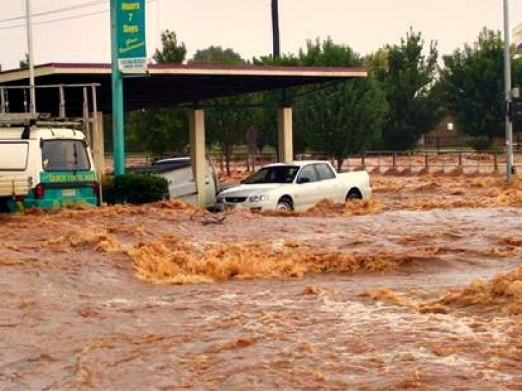ძლიერი წვიმის გამო, სენაკის მუნიციპალიტეტში70 ოჯახი გარესამყაროს მოწყდა