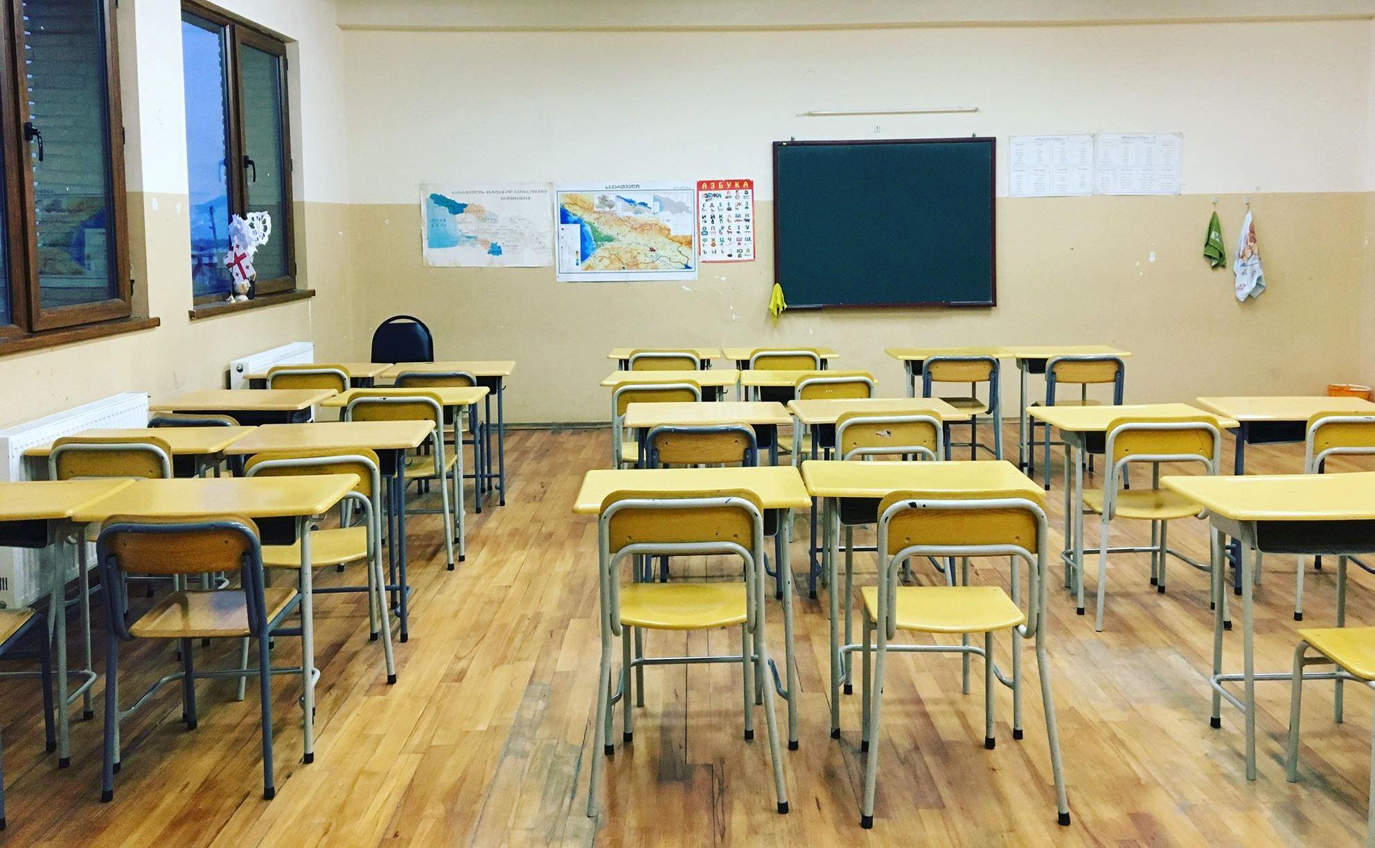სკოლები, სადაც საარჩევნო უბნებია გახსნილი, სწავლების დისტანციურ რეჟიმზე გადავლენ