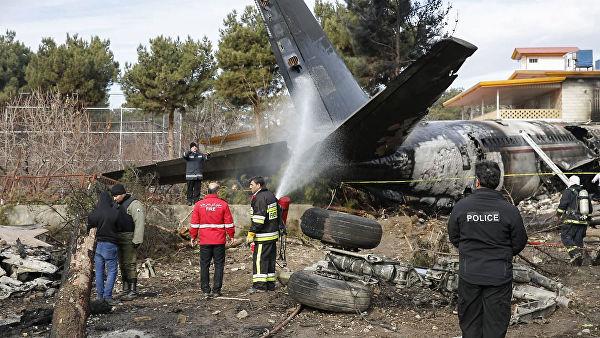 ირანში ავიაკატასტროფის ადგილას 7 ცხედარი იპოვეს