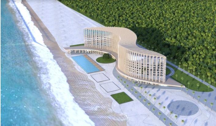ივანიშვილმა განმუხურში 5-ვარსკვლავიანი სასტუმროს მშენებლობა დაიწყო