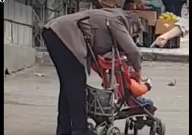 """""""სასწრაფოდ!!! კეკელიძზე ძიძამ ბავშვი ეტლში ჩაახეთქა  """" - სოცქსელში პატარას დედას ეძებენ (ვიდეო)"""