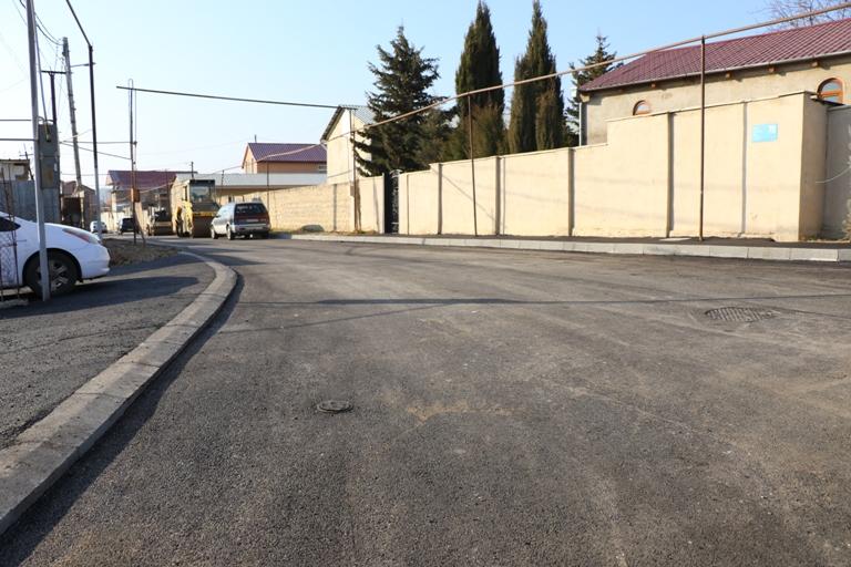 გლდანში, მაისურაძის ქუჩის დარჩენილ ნაწილზე გზის საფარის მოწყობა დასრულდა