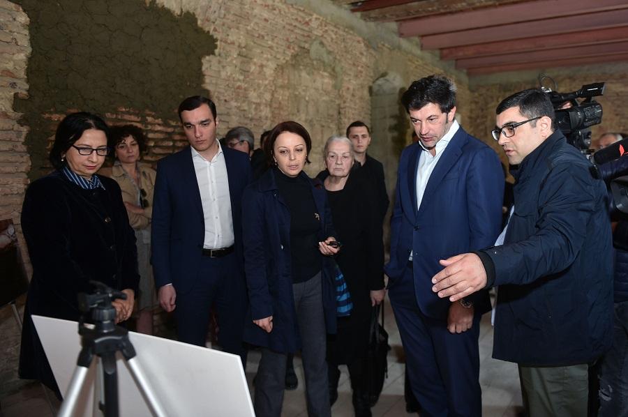 თბილისში ილია ჭავჭავაძის ლიტერატურულ-მემორიალური მუზეუმის რეაბილიტაციის პირველი ეტაპი დასრულდა