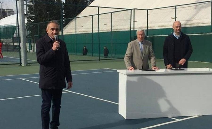 მზიურის კორტები ჩოგბურთის ფედერაციას 49 წლით გადაეცა
