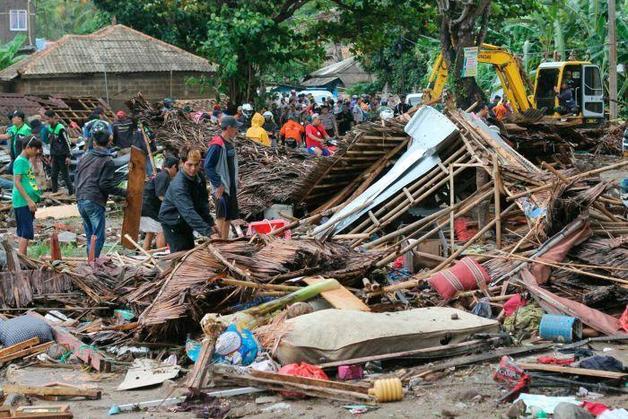 ინდონეზიაში ცუნამის შედეგად დაღუპულთა რიცხვი 222-მდე გაიზარდა