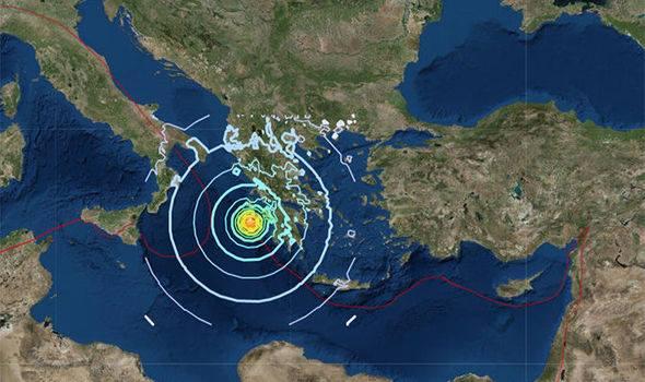 საბერძნეთში მიწისძვრა მოხდა