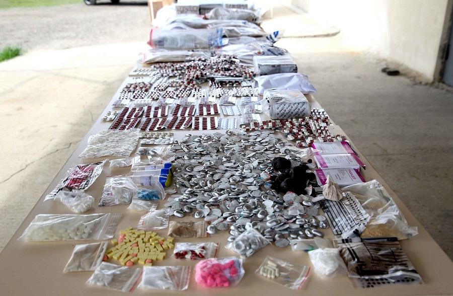 შსს-მ ნივთმტკიცებად ამოღებული 5,5 მილიონი ლარის ღირებულების ნარკოტიკები გაანადგურა
