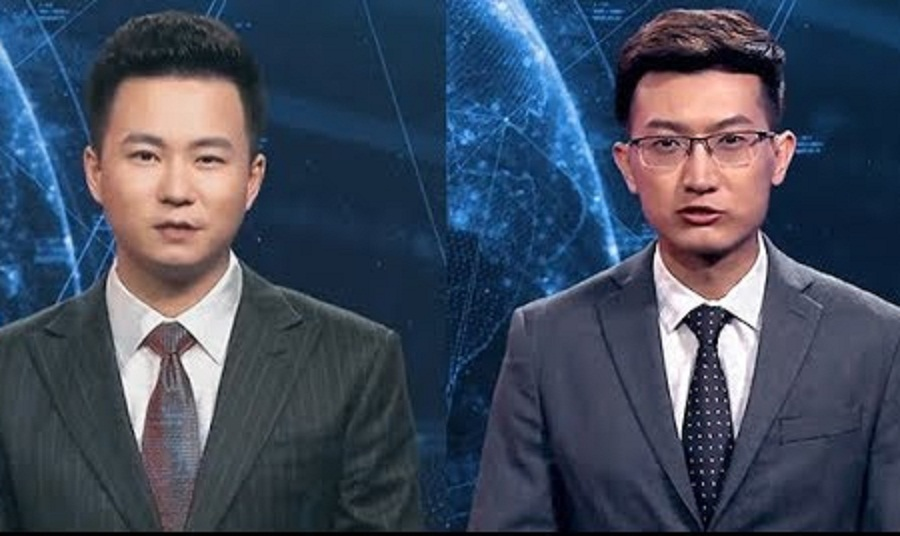 ჩინეთში ახალი ამბების სააგენტომ რობოტი ტელეწამყვანები წარადგინა