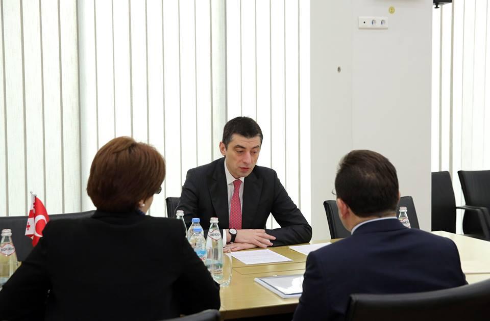 შინაგან საქმეთა მინისტრი თურქეთის რესპუბლიკის ეროვნული პოლიციის უფროსს სელამი ალთინოქს შეხვდა