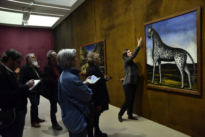 საფრანგეთში, ვან გოგის მუზეუმში ფიროსმანის ნახატების გამოფენა გაიხსნა