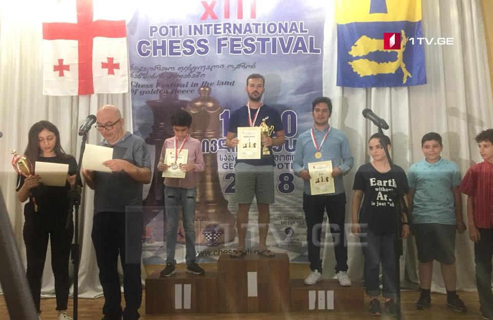 ჭადრაკის ფესტივალის გამარჯვებული 14 წლის უზბეკი მოჭადრაკე გახდა
