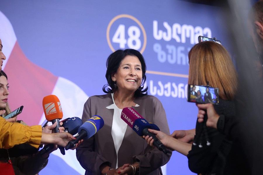 სალომე ზურაბიშვილი - დღეს საუბრობენ, რომ ქართული ენა არ ვიცი, მაგრამ არ ახსოვთ, რომ ლავროვს ქართულად ველაპარაკე
