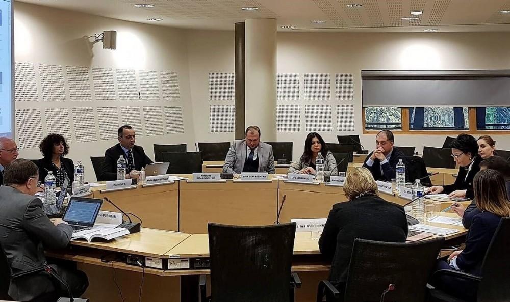 """ეკა ბესელიამ საერთაშორისო კონფერენცია """"საქართველოს პარლამენტის როლი ადამიანის უფლებათა ევროპული კონვენციის სტანდარტების განხორციელებაში"""" მისასალმებელი სიტყვით გახსნა"""