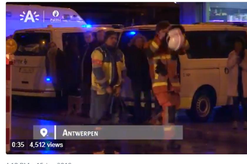 ბელგიაში აფეთქების შედეგად 14 ადამიანი დაშავდა