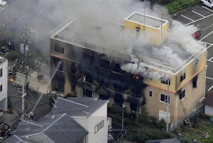 იაპონიაში ანიმეს სტუდიაში ხანძრისას დაღუპულთა რაოდენობამ ოცს გადააჭარბა