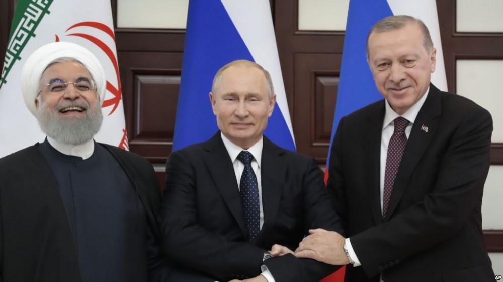 რუსეთი, ირანი და თურქეთი სოჭში სირიის საკითხს იხილავენ