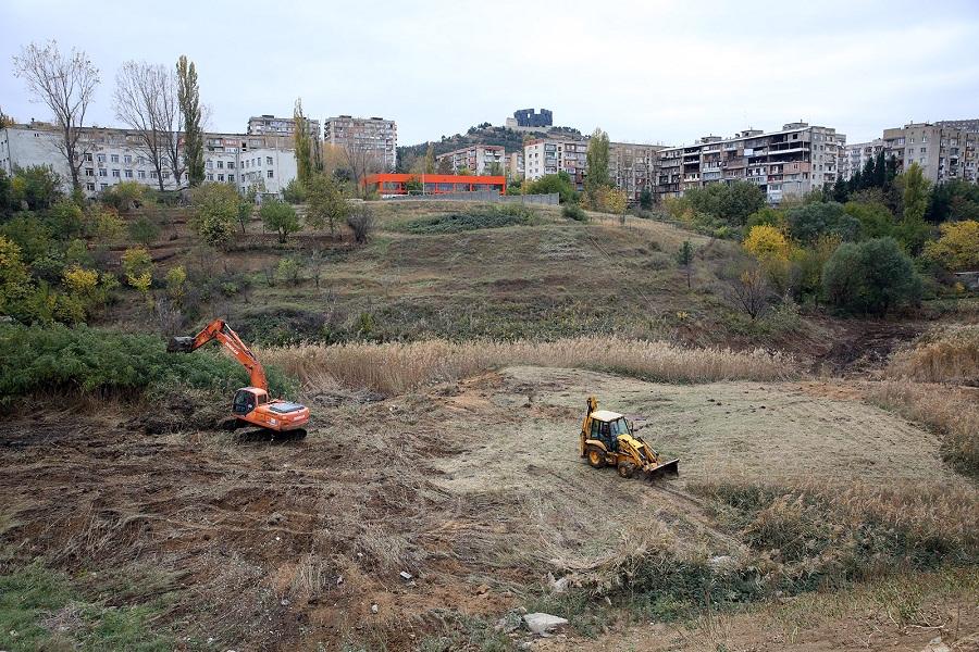 თემქის ხევის ტერიტორიაზე ახალი საქალაქო პარკი გაშენდება