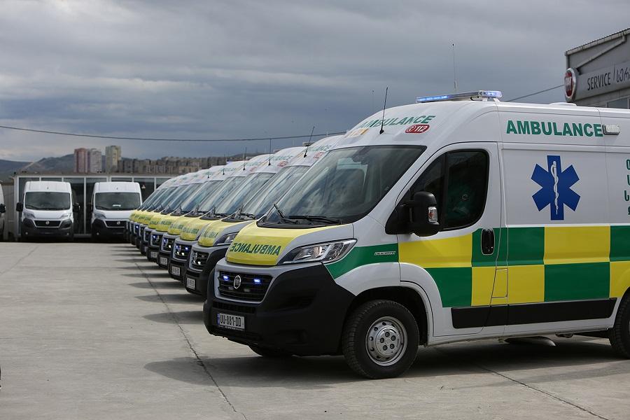 თბილისის სასწრაფო-სამედიცინო დახმარების ცენტრს ახალი ავტომობილები გადაეცა